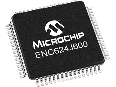 ENC624J600 - 10/100 Base-T/TX Ethernet Controller with SPI Interface