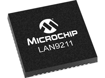 LAN9211 - 10/100 Base-T/TX Ethernet Controller with 16 Bit Interface