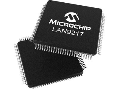 LAN9217 - 10/100 Base-T/TX Ethernet Controller with 16 Bit/MII Interface