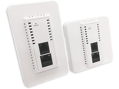 ECW100 - Concurrent Dual-Band 802.11ac in-wall Access Point