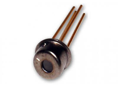 850nm, TO-46 Tilt window component, common Anode or Cathode, 2.5 Gb/s, unattenuated