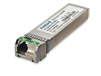 10Gb/s Bidirectional Dual-Band DWDM 20km Multi-Rate Tunable SFP+ (Bidi T-SFP+) Transceiver