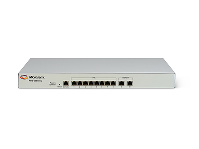 .8 + 2 ports Indoor Switch, 30 W/60 W per port (up to 72 W), AC input, IEEE 802.3af and at, 10/100/1000 Mbps, PoE Managed