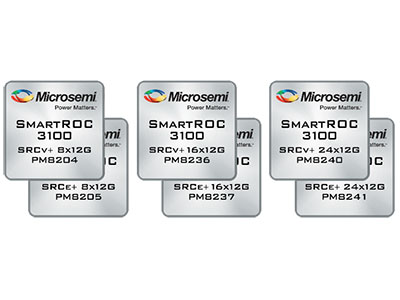12 Gbps SmartROC 3100 Controllers