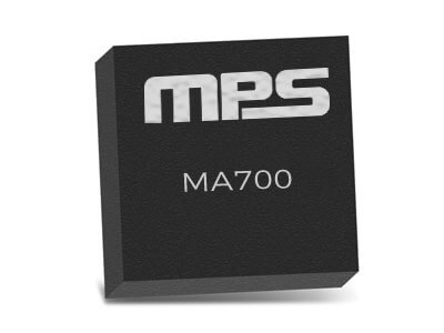 MA700 Angular Sensor for Position Control with Side-Shaft Positioning Capability