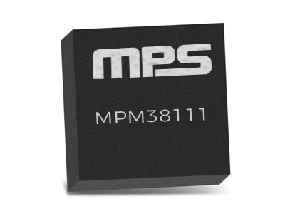 MPM38111 6V, Dual 1A, Step-Down Power Module with Integrated Inductor and 45µA low Iq