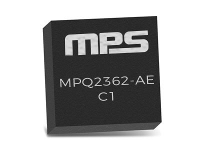 MPQ2362-AEC1 Dual 2A, 23V, 380kHz Step-Down Converter with Frequency Synchronization with AEC-Q100 qualified