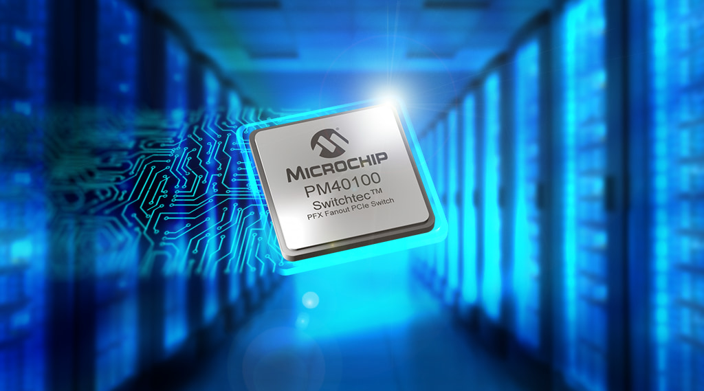 Microchip PCIe Gen 4 PFX and PSX Switches Production released