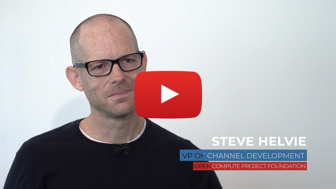 [Video] Interview with Steve Helvie, VP of Channel - Open Compute Project