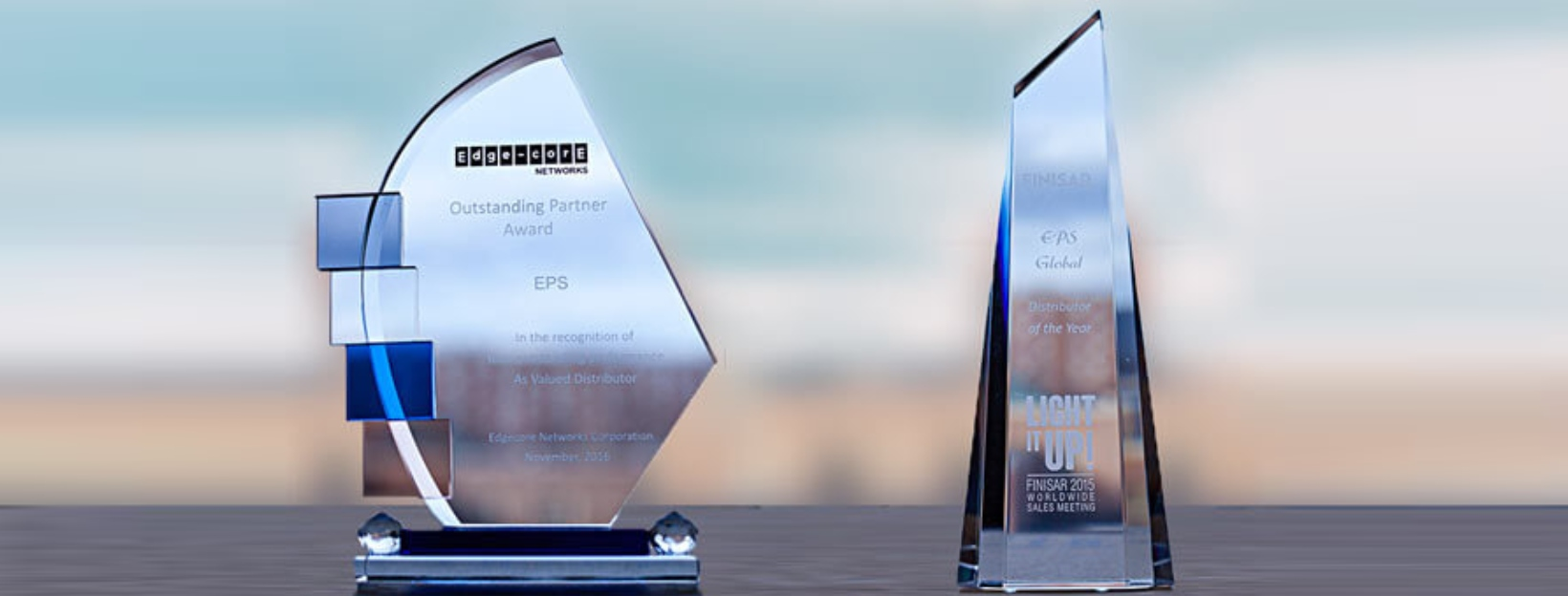 EPS Global Wins Outstanding Partner and Global Distributor of the Year Accolades from Edgecore Networks and Finisar