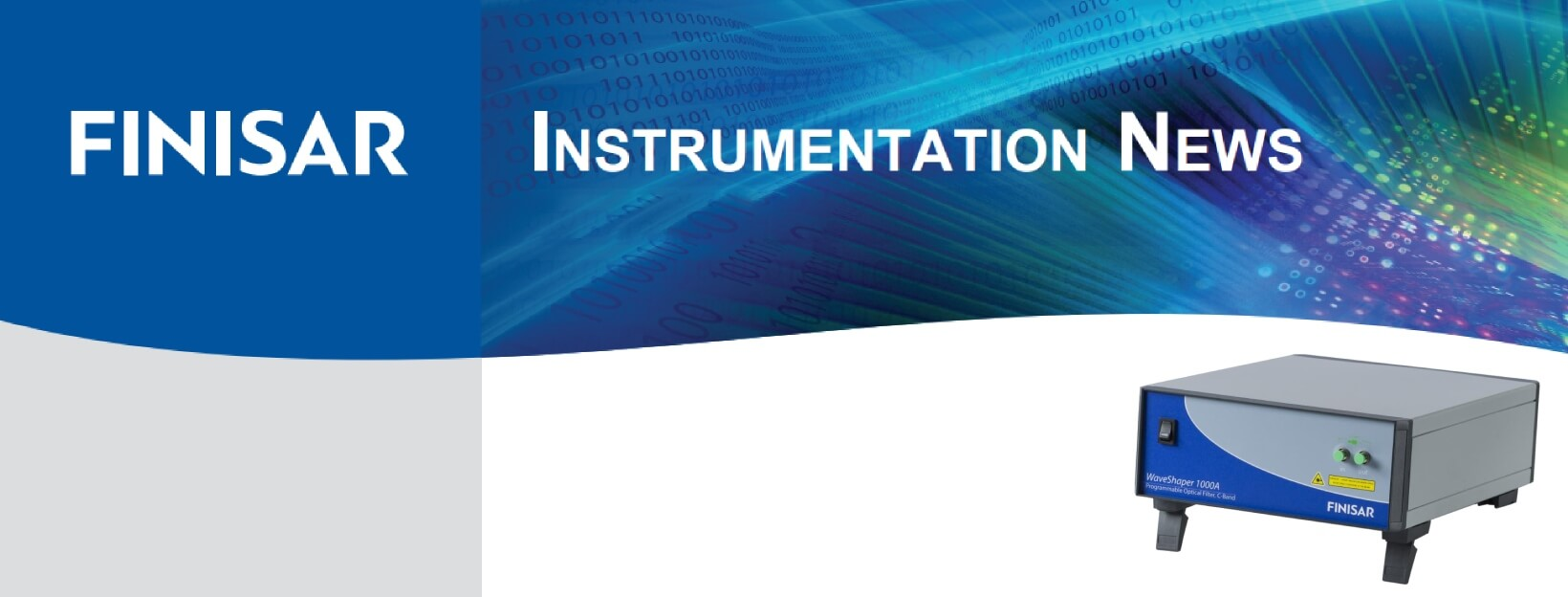 Finisar Instrumentation News - Spring 2018