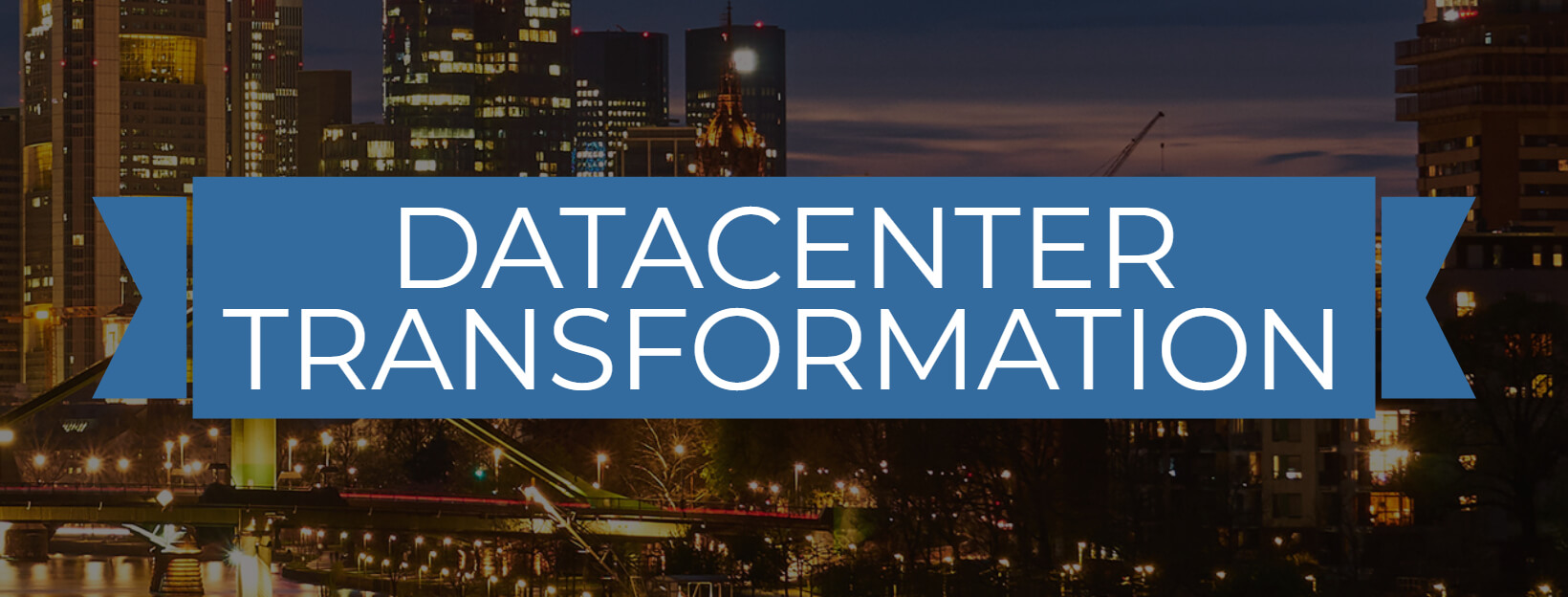 Save the Date! Datacenter Transformation 2018: Sept 20th 2018, Frankfurt
