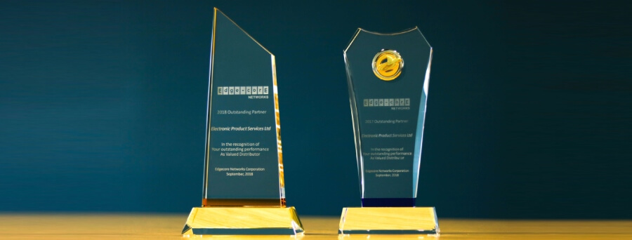 EPS Global wins Outstanding Partner and Sales Accolades from Edgecore Networks